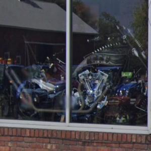 "Paul Jr. Designs ""Bebop Bike"" in the shop window (StreetView)"