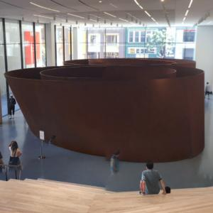 'Sequence' by Richard Serra (StreetView)