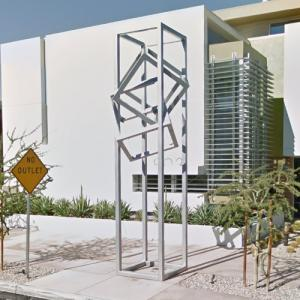 'Intersecting Cubes' by Brian Biedul (StreetView)