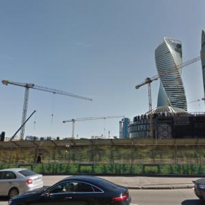 One Tower under construction (StreetView)