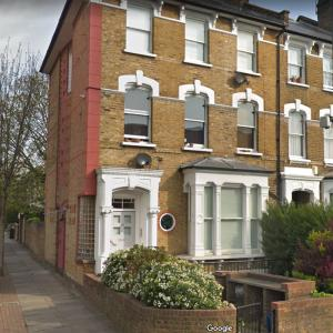 House where Jack 'The Hat' McVitie was stabbed to death by the Kray twins. (StreetView)