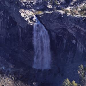 Illilouette Fall (Google Maps)