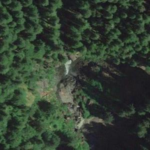 Snagtooth Falls (Google Maps)