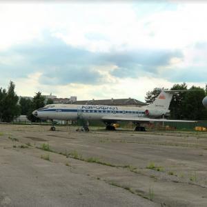 Tu-134AK (StreetView)