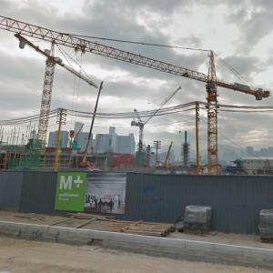 M+ under construction (StreetView)