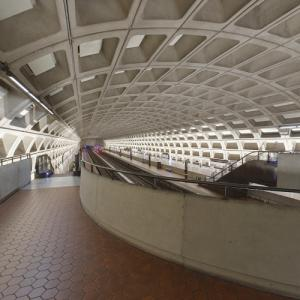 'Pentagon City Station' by Harry Weese (StreetView)