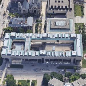 'Mosse Humanities Building' by Harry Weese (Google Maps)