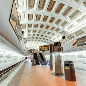 'Farragut North Station' by Harry Weese (StreetView)