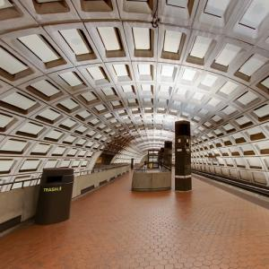 'Rosslyn Station' by Harry Weese (StreetView)