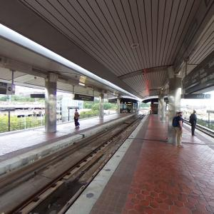 'Ronald Reagan Washington National Airport Station' by Harry Weese (StreetView)