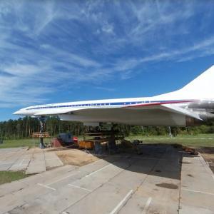 Tu-144LL (StreetView)