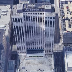 'Chicago Marriott Downtown' by Harry Weese (Google Maps)