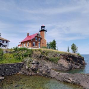 Eagle Harbor Light (StreetView)