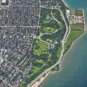 'Lake Park' by Frederick Law Olmsted (Google Maps)