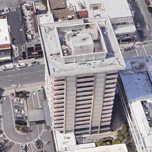 'Hotel Kabuki' by Minoru Yamasaki (Google Maps)