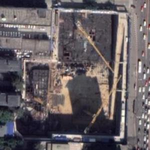 Hongfa Jinnuo Center under construction (Google Maps)