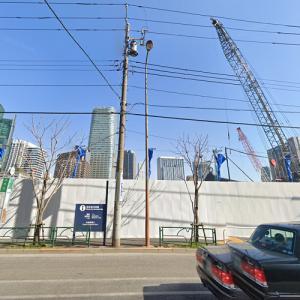 Toranomon-Azabudai District 2nd Phase Redevelopment (tallest building in Japan) under construction (StreetView)