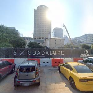6 X Guadalupe under construction (StreetView)