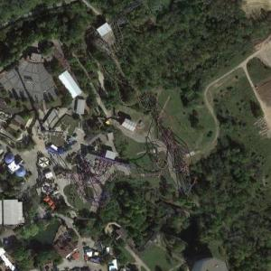 Son of Beast Rollercoaster (Google Maps)