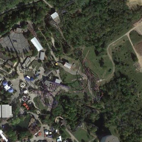 Son of Beast Rollercoaster (Google Maps)