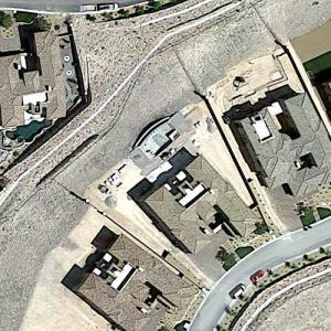 Marc Badain's house (Google Maps)