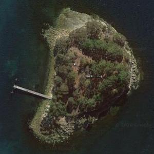 Isle of the Dead (Google Maps)