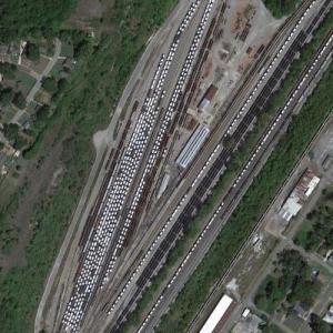 Ensley Yard - BHRR (Google Maps)