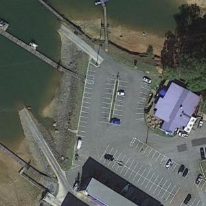 """The Sunset Grille and Victoria Harbor (""""Ozark"""") (Google Maps)"""