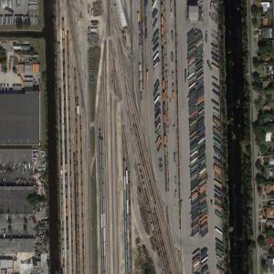 Hialeah Yard - CSX/Amtrak (Google Maps)