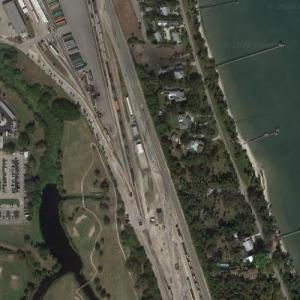 Fort Pierce Yard - Florida East Coast (Google Maps)