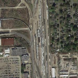Baton Rouge Yard - Kansas City Southern (Google Maps)