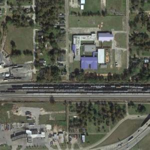 Lake Charles Yard - UP (Google Maps)