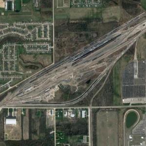 Flat Rock Yard - CN (Google Maps)