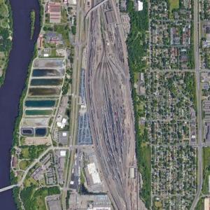 Northtown Yard - BNSF (Google Maps)