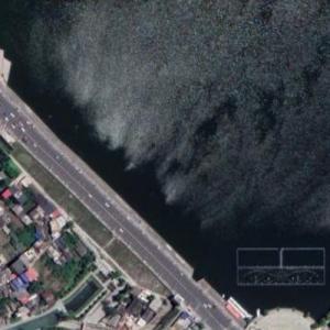 Anshun bus crash (7/7/20) (Google Maps)
