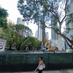 830 Brickell Avenue under construction (StreetView)