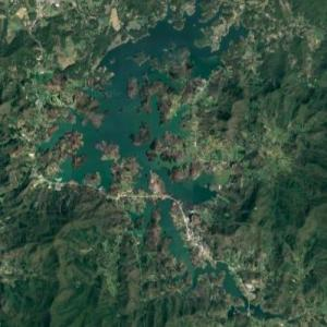Chatuge Lake (Google Maps)