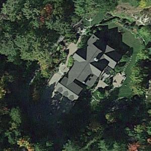 Rachael Ray's Lake Luzerne Home (Google Maps)