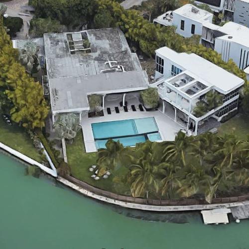 matthew lazenby's house in miami beach, fl (google maps)