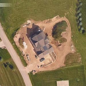 Joe Thomas' house (Google Maps)