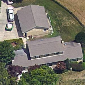 Erik Jones' house (Google Maps)