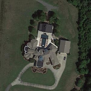 Ricky Stenhouse Jr's house (Google Maps)