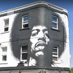 Jimi Hendrix mural (StreetView)