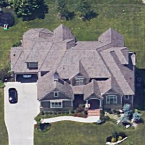 Dustin Colquitt's house (Google Maps)