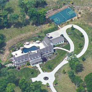 Matt Cassel's house (Google Maps)
