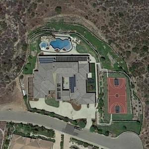 Eric Weddle's house (Google Maps)