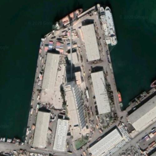 Building Explosion, Beirut, Lebanon (4 AUG 2020) (Google Maps)
