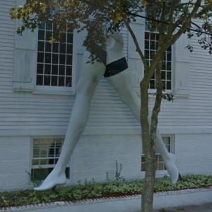 'Legs' by Larry Rivers (StreetView)