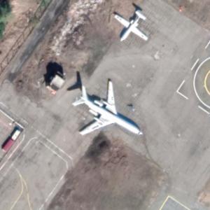 Tu-154M (Google Maps)