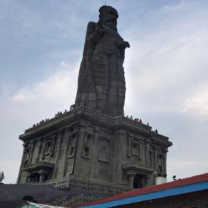 Thiruvalluvar Statue (StreetView)